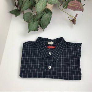 Signum Mens Button Up Short Sleeve Shirt XL